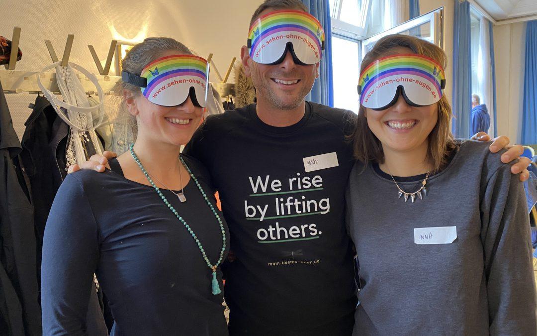 Sehen ohne Augen | Aktivierung deiner Intuition mit ganzheitlichem Training | Interview mit Evelyn Ohly + Axel Kimmel | #219